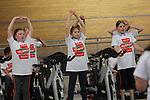 VELOTHON Wales 2015<br /> Wales National Velodrome<br /> 20.04.15<br /> &copy;Steve Pope - FOTOWALES