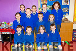 Six sets of Twins at LISSELTON N.S. Pictured Aoife and Cormac Hartnett, Junior , Evanne and Fionain Mason, Senior, Ronan and Teagan Fitzgerald, Senior, Aimee and Ronan Stack, 3rd, Caoimhe and Mark O'Connor, 5th, Darragh and Aoife Scanlon, 6th