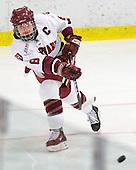 Kathryn Farni (Harvard - 8) - The Harvard University Crimson defeated the Boston College Eagles 5-0 in their Beanpot semi-final game on Tuesday, February 2, 2010 at the Bright Hockey Center in Cambridge, Massachusetts.
