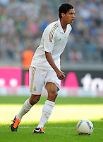 FUSSBALL   INTERNATIONAL   SAISON 2011/2012   TESTSPIEL Herha BSC Berlin - Real Madrid         27.07.2011      Raphael VARANE (Real Madrid) Einzelaktion am Ball