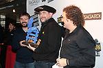 Txapeldun de l'Any 2015.<br /> Jordi Evole, Karra Elejalde &amp; Inaki LZ de Vinaspre.