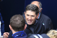 Padraig Harrington (IRL) hugs Alan Lowry after brother Shane wins the Championship by 6 shots at the end of Sunday's Final Round of the 148th Open Championship, Royal Portrush Golf Club, Portrush, County Antrim, Northern Ireland. 21/07/2019.<br /> Picture Eoin Clarke / Golffile.ie<br /> <br /> All photo usage must carry mandatory copyright credit (© Golffile | Eoin Clarke)