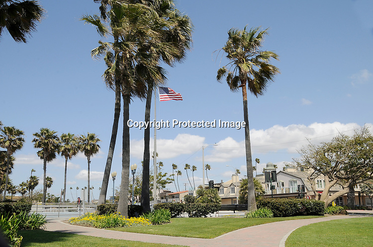 Seal Beach California Stock photograph