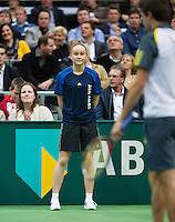 14-02-13, Tennis, Rotterdam, ABNAMROWTT, Ballgirl Kerkhove