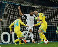Ashley Williams<br /> <br />  UEFA Europa League round of 32 second  leg match, betweenAC  Napoli  and Swansea City   at San Paolo stadium in Naples, Feburary 27 , 2014