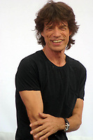 "Mick Jagger<br /> ROLLING STONES PRESS CONFERENCE <br /> TO ANNOUNCE THEIR UPCOMING <br /> ""THE ROLLING STONES ON STAGE WORLD TOUR"". LINCOLN CENTER, NEW YORK 05-10-2005<br /> Photo By John Barrett/PHOTOlink"