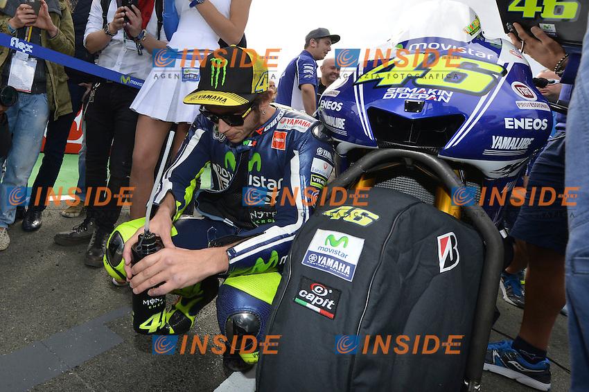 Valencia (Spagna) 09/11/2014 Moto GP / foto Luca Gambuti/Image Sport/Insidefoto<br /> nella foto: Valentino Rossi