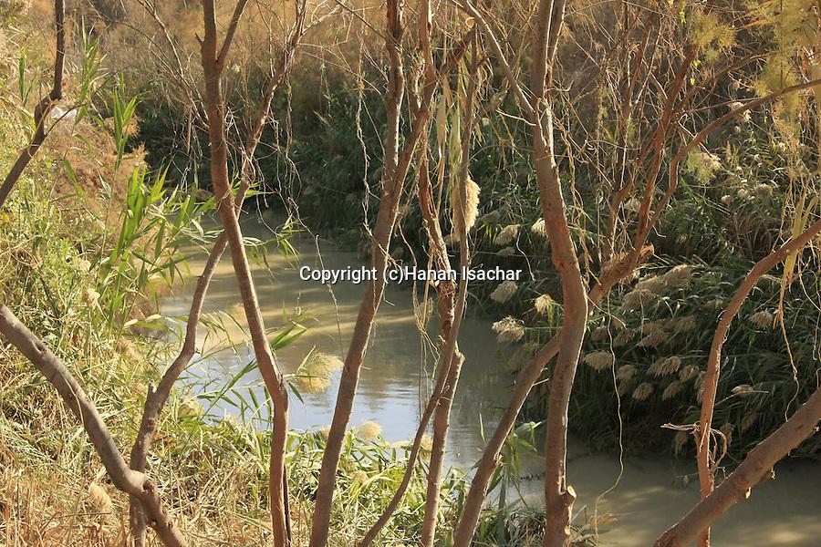Jordan Valley, Qasr al Yahud. The place of Jesus' baptism by John the Baptist at the Jordan River