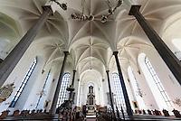Heliga Trefaldighetskyrkan (Dreifaltigkeits-Kirche). 17.Jh. in Kristianstad, Provinz Skåne (Schonen), Schweden, Europa<br /> Heliga Trefaldighetskyrkan (Holy Trinity Church) in Kristianstad, Province Skåne, Sweden