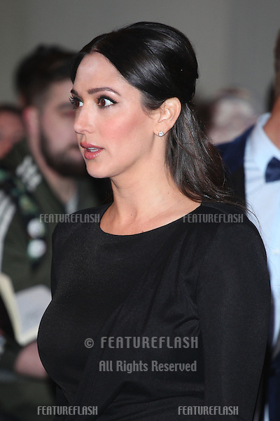 Lauren Silverman arriving for the I Can't Sing Press Night, at the Paladium, London. 26/03/2014 Picture by: Alexandra Glen / Featureflash
