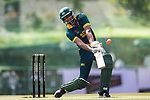 Sarel Erwee of South Africa hits a shot during Day 2 of Hong Kong Cricket World Sixes 2017 Cup Semi 1 match between  New Zealand Kiwis vs South Africa  at Kowloon Cricket Club on 29 October 2017, in Hong Kong, China. Photo by Yu Chun Christopher Wong / Power Sport Images