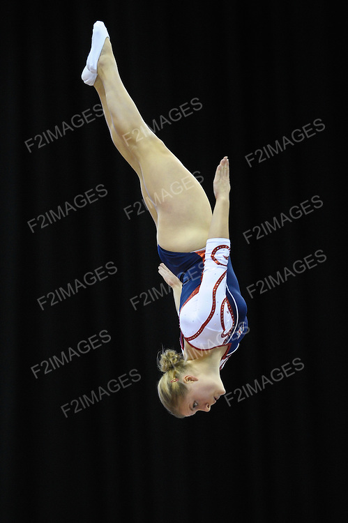 17.11.11 Trampoline and Tumbling World Championships.Emma Smith of Great Britiain. Laura Gallagher GB
