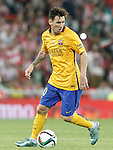 FC Barcelona's Leo Messi during Supercup of Spain 1st match.August 14,2015. (ALTERPHOTOS/Acero)