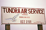 Tundra Air Service Sign