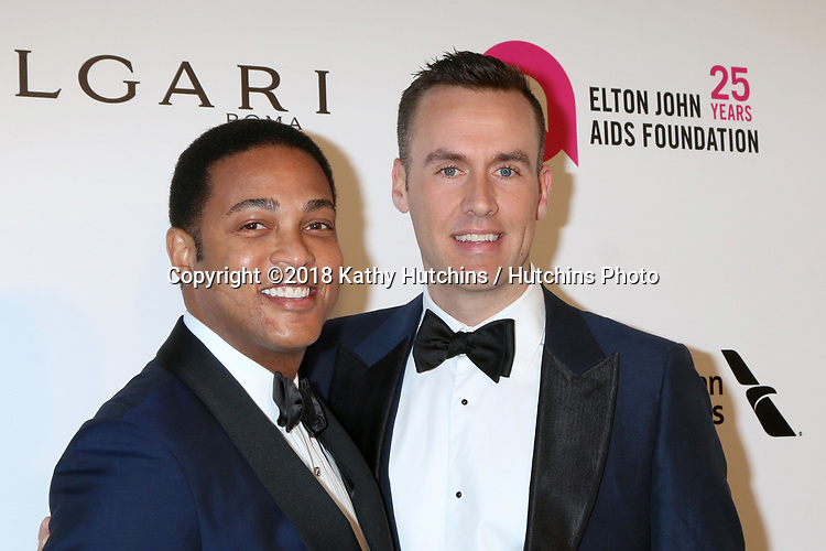 LOS ANGELES - MAR 4:  Don Lemon, Guest at the 2018 Elton John AIDS Foundation Oscar Viewing Party at the West Hollywood Park on March 4, 2018 in West Hollywood, CA
