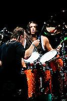 Mettalica performing at Scottrade Center in Saint Louis on Nov 17, 2008.