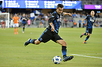 San Jose, CA - Saturday April 14, 2018: Chris Wondolowski during a Major League Soccer (MLS) match between the San Jose Earthquakes and the Houston Dynamo at Avaya Stadium.