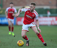 Paddy Madden of Fleetwood Town during the Sky Bet League 1 match between Fleetwood Town and MK Dons at Highbury Stadium, Fleetwood, England on 24 February 2018. Photo by David Horn / PRiME Media Images