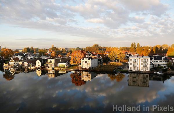 Nederland Zaandam. Herfst in Zaandam.  Foto Berlinda van Dam / Hollandse Hoogte