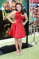 """LOS ANGELES - AUG 5:  Jodelle Ferland arrives at the """"ParaNorman"""" Premiere at Universal CityWalk on August 5, 2012 in Universal City, CA ©mpi27/MediaPunch Inc"""
