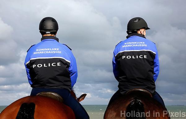 Koninklijke marechaussee te paard