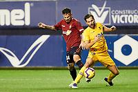 Ruben García (midfield; CA Osasuna) during the Spanish football of La Liga 123, match between CA Osasuna and AD Alcorcón at the Sadar stadium, in Pamplona (Navarra), Spain, on Sanday, December 16, 2018.