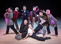 Photo from FLEX: A Dance Theater Performance on Oct. 11, 2019 at Occidental College's Oxy Arts building on York Boulevard. Oxy Arts is Oxy's community art center located in Highland Park, one block south of campus.<br /> FLEX is a dance theater work in search of the Filipino American narrative. Dedicated to Jay Carlon's father Honorio Carlon, an agricultural migrant worker who immigrated to California from the Philippines during the Great Depression for a better life and lived an untold American narrative. Originally premiered February, 2019 at L.A. Dance Project Studios.<br /> (Photo by Marc Campos, Occidental College Photographer)