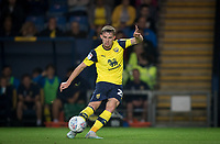 Jamie Hanson of Oxford United during the The Leasing.com Trophy match between Oxford United and Norwich City U21 at the Kassam Stadium, Oxford, England on 3 September 2019. Photo by Andy Rowland.
