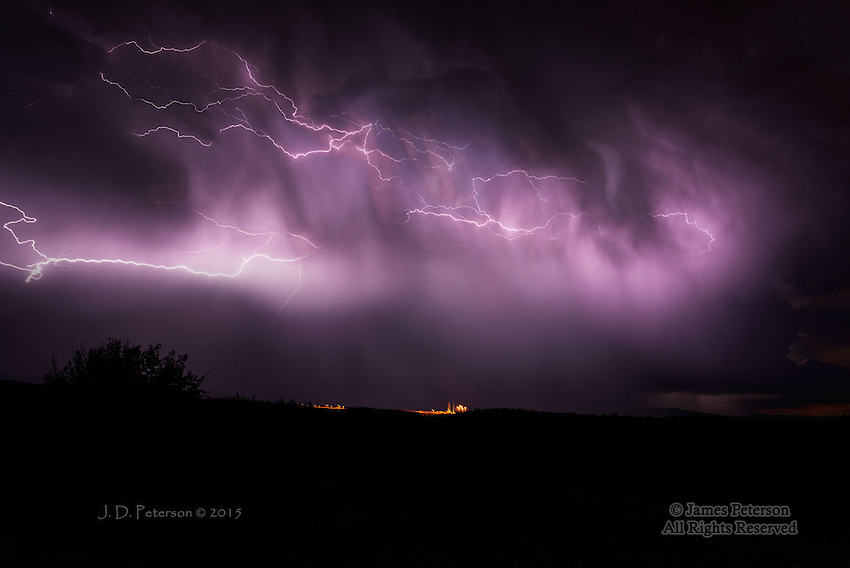 Thunderstorm over Verde Valley, Arizona