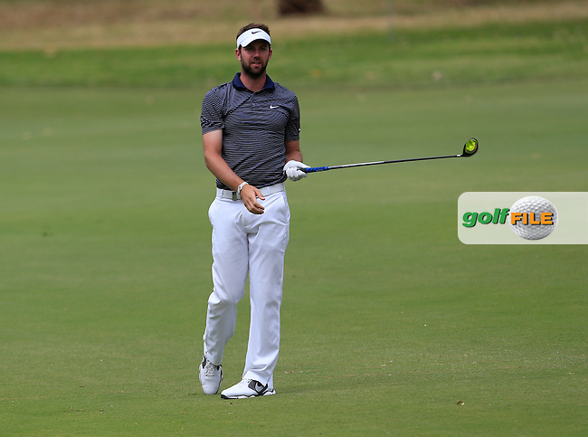 Scott Jamieson (SCO) on the 11th during Round 3 of the ISPS HANDA Perth International at the Lake Karrinyup Country Club on Saturday 25th October 2014.<br /> Picture:  Thos Caffrey / www.golffile.ie