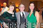 Pictured at Kerry Fashion Weekend awards held in the Carlton hotel, Tralee on Saturday evening, were l-r: Ann and Danny Leane (Annburys) and Marie Loughran