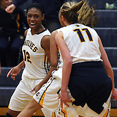 Rochester Adams at Clarkston, Girls Varsity Basketball, 2/24/2014