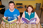 Bernard Moloney and Eileen O'Callaghan of Killarney VTOS who have taken the opportunity to go back and sit their Leaving Certificate Exams.