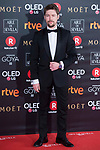 Jan Cornet attends red carpet of Goya Cinema Awards 2018 at Madrid Marriott Auditorium in Madrid , Spain. February 03, 2018. (ALTERPHOTOS/Borja B.Hojas)