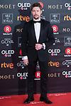 Jan Cornet attends red carpet of Goya Cinema Awards 2018 at Madrid Marriott Auditorium in Madrid , Spain. February 03, 2018. (ALTERPHOTOS/Borja B.Hojas)