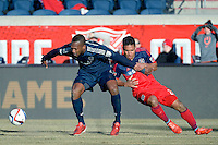 Bridgeview, IL.- March 14, 2015: The Vancouver Whitecaps defeated the Chicago Fire by the score of 1-0 at Toyota Park.