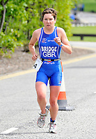 Photo: Paul Greenwood/Richard Lane Photography. Strathclyde Park Elite Triathlon. 17/05/2009. .Wales's Carol Bridge