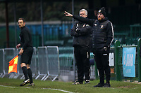 Romford manager Paul Martin during Romford vs Basildon United, Bostik League Division 1 North Football at Rookery Hill on 24th November 2018