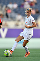 Orlando, FL - Saturday Sept. 24, 2016: Katie Bowen during a regular season National Women's Soccer League (NWSL) match between the Orlando Pride and FC Kansas City at Camping World Stadium.