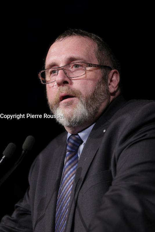 Jean-Paul lachapelle<br />  au Gala Phenicia de la Chambre de Commerce LGBT du Qu&eacute;bec, tenu au Parquet de la Caisse de Depots et Placements du Quebec, jeudi, 26 mai 2016.<br /> <br /> <br /> PHOTO : Pierre Roussel -  Agence Quebec Presse