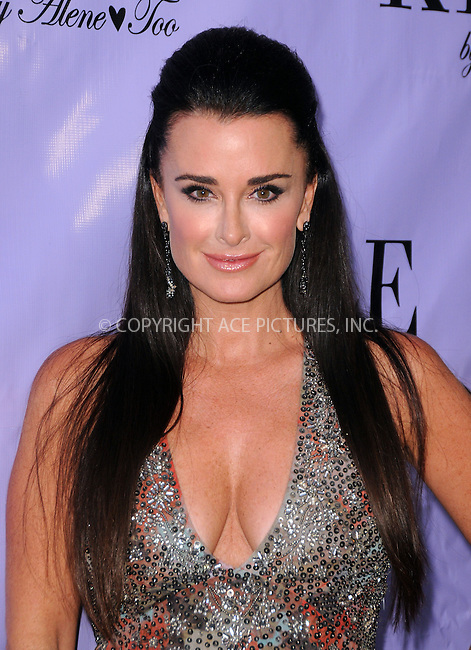 WWW.ACEPIXS.COM . . . . .  ....July 21 2012, LA....Kyle Richards at the grand opening for her new boutique 'Kyle By Alene Too' on July 21, 2012 in Beverly Hills, California.....Please byline: PETER WEST - ACE PICTURES.... *** ***..Ace Pictures, Inc:  ..Philip Vaughan (212) 243-8787 or (646) 769 0430..e-mail: info@acepixs.com..web: http://www.acepixs.com
