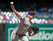New York Mets starting pitcher Zack Wheeler (45) works in the sixth inning against the Washington Nationals at Nationals Park in Washington, D.C. on Thursday, May 16, 2019.  The Nationals won the game 7 - 6.  <br /> Credit: Ron Sachs / CNP<br /> (RESTRICTION: NO New York or New Jersey Newspapers or newspapers within a 75 mile radius of New York City)