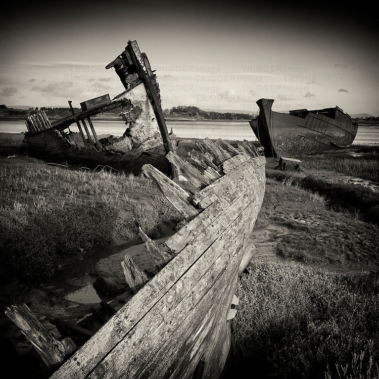 Shipwrecks, Fleetwood, Lancashire, UK