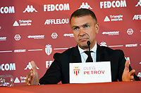 21st July 2020, Monaco, France; AS Monaco announce the employment of Niko Kovac as their new player coach at their press conference.  Oleg Petrov president  of AS Monaco