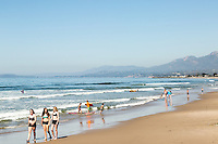 Carpinteria State Beach. Carpinteria, California.