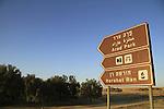 Israel, Negev, a view of Arad Park