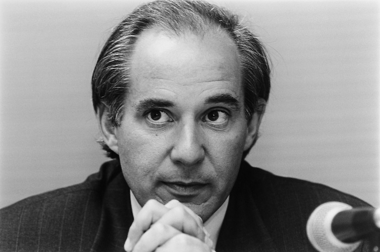 Close-up of Rep. Robert Torricelli, D-N.J., in 1994. (Photo by Laura Patterson/CQ Roll Call)