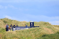 Russell Knox (SCO) on the 6th tee during Round 3 of the Alfred Dunhill Links Championship 2019 at Kingbarns Golf CLub, Fife, Scotland. 28/09/2019.<br /> Picture Thos Caffrey / Golffile.ie<br /> <br /> All photo usage must carry mandatory copyright credit (© Golffile | Thos Caffrey)