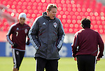 20 November 2010: Assistant coach Steve Guppy (ENG) leads practice. Colorado Rapids held a practice at BMO Field in Toronto, Ontario, Canada as part of their preparations for MLS Cup 2010, Major League Soccer's championship game.