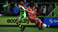 Sam Nombe of MK Dons in action during Forest Green Rovers vs MK Dons, Caraboa Cup Football at The New Lawn on 8th August 2017